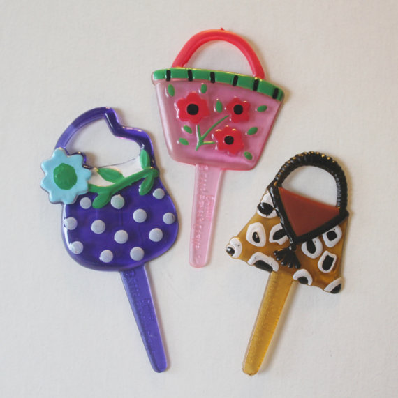 12PC PARTY PURSE PICK FOR HAIRBOWS