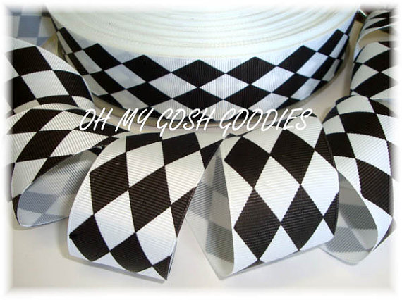 1.5 BLACK WHITE JESTER - 5 YARDS