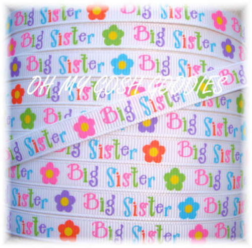3/8 BIG SISTER RIBBON - 5 YARDS