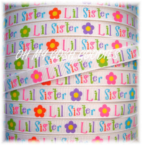3/8 LITTLE SISTER RIBBON - 5 YARDS